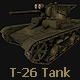 T-26 Soviet Tank - 3DOcean Item for Sale