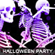 Halloween Party Dancers - GraphicRiver Item for Sale