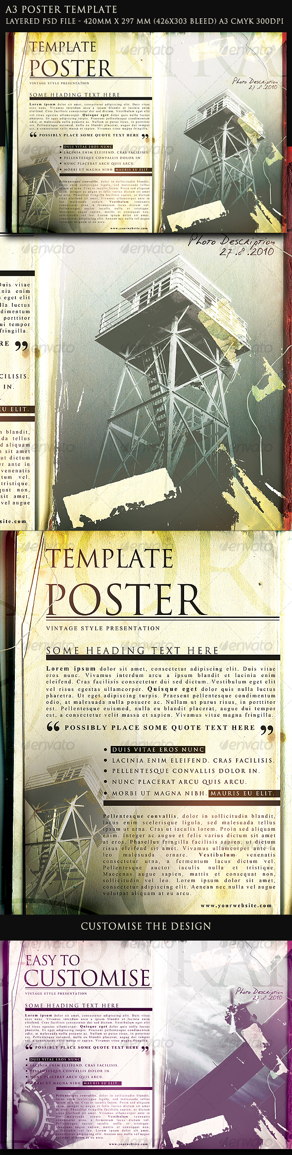 GraphicRiver Poster Template 114542