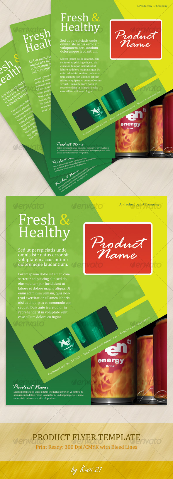 Product Flyer Template - Commerce Flyers