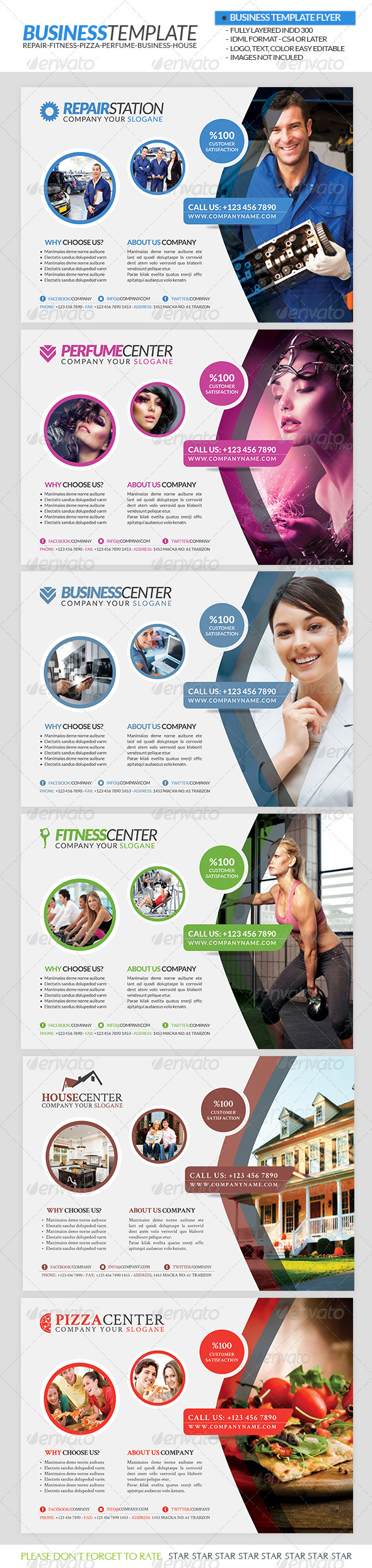 GraphicRiver Business Flyer Template 3243246