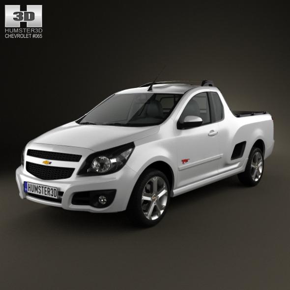 3DOcean Chevrolet Montana Tornado 2012 3253869