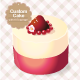 Custom Cake with 16 Topping - GraphicRiver Item for Sale