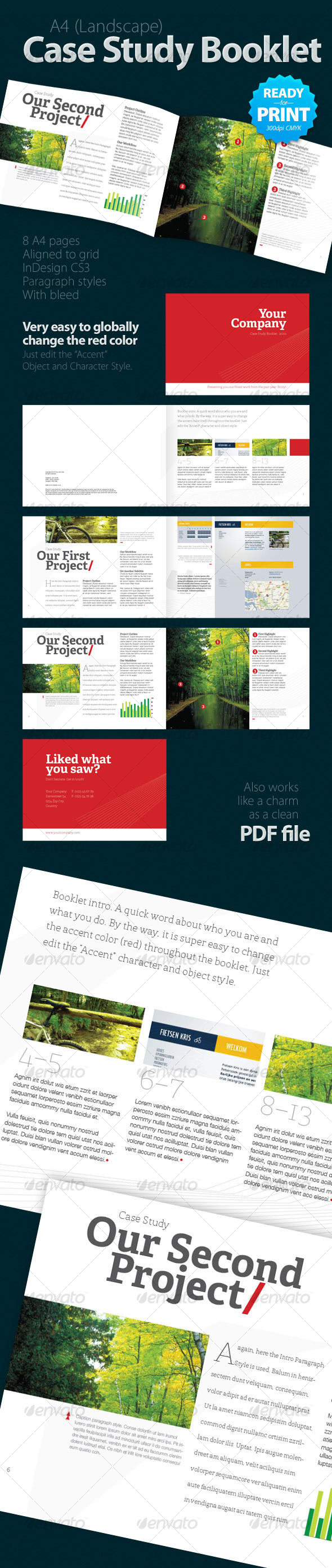 GraphicRiver Case Study Booklet 8 pages 114587