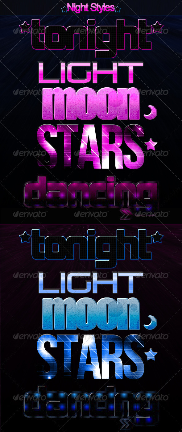 GraphicRiver Night Styles 336887