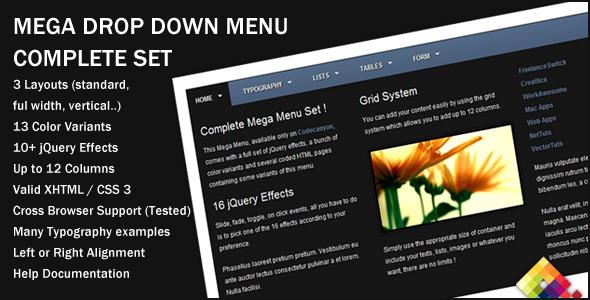 30 jQuery Menu Bar Tutorials & Examples - 1stWebDesigner