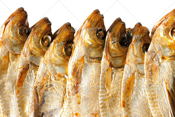 sprats background - Stock Photo - Images