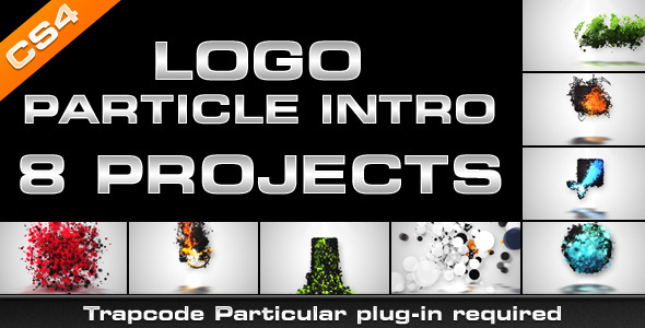 VideoHive Logo Particle Intro 8in1 3254938