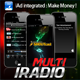 Multi iRadio - Unlimited Radio - iAd Make Money  - CodeCanyon Item for Sale