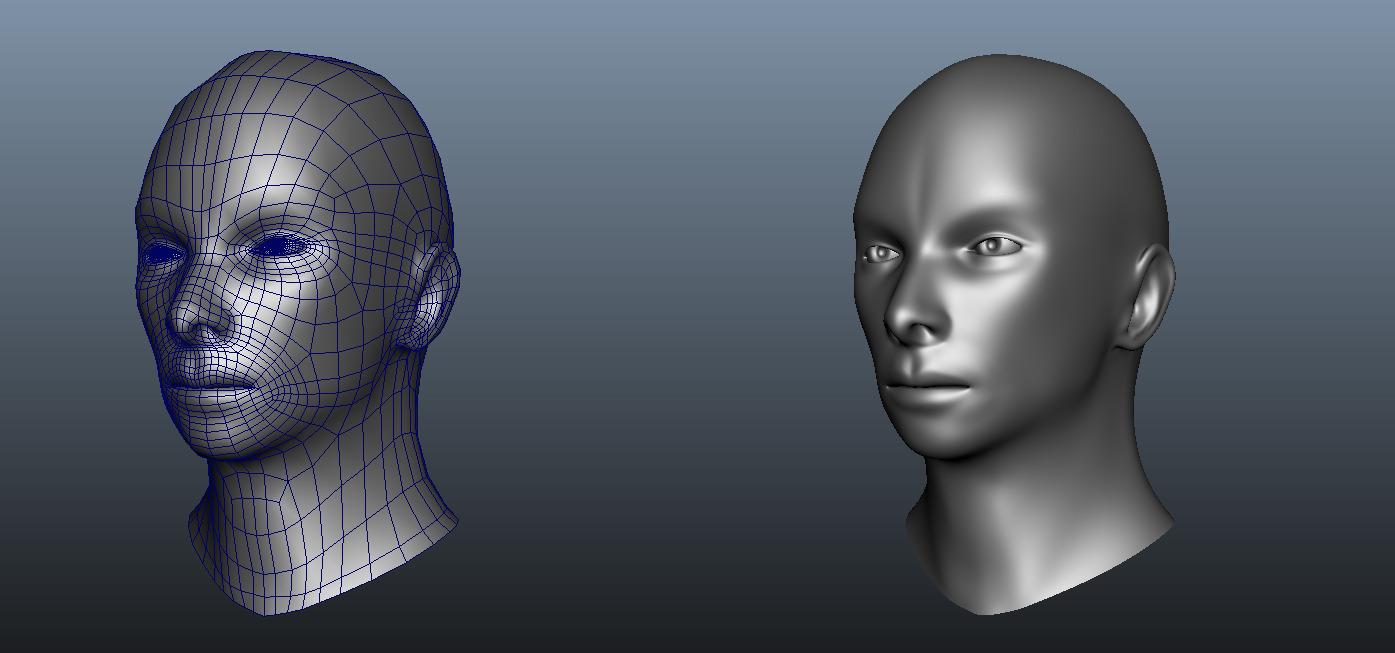 3DOcean Human Head 337023