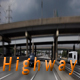 Highway With Airplane Full HD - VideoHive Item for Sale