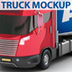 Truck Trailer Mockup - GraphicRiver Item for Sale