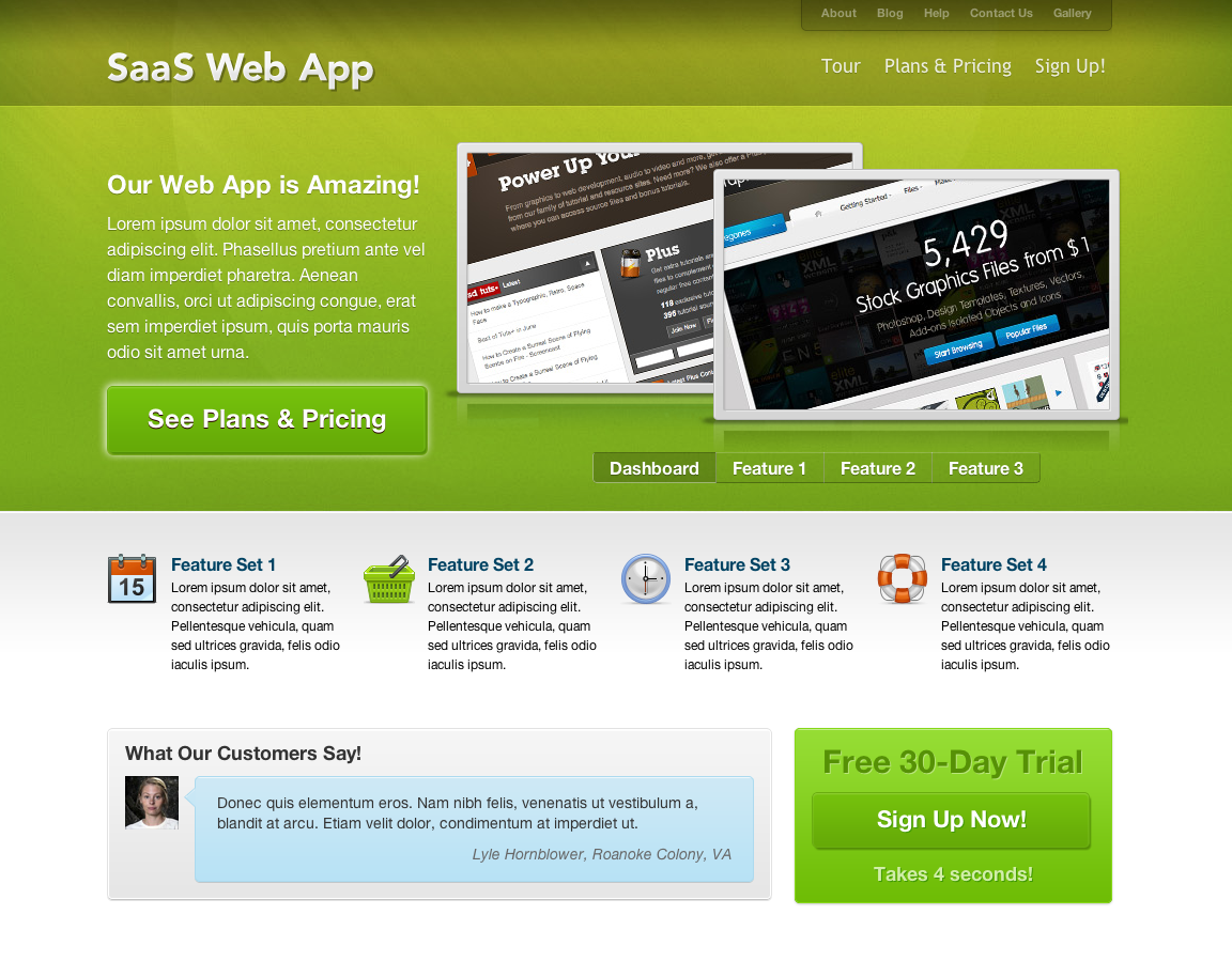 Freemium SaaS Wordpress CMS + Blog Theme I