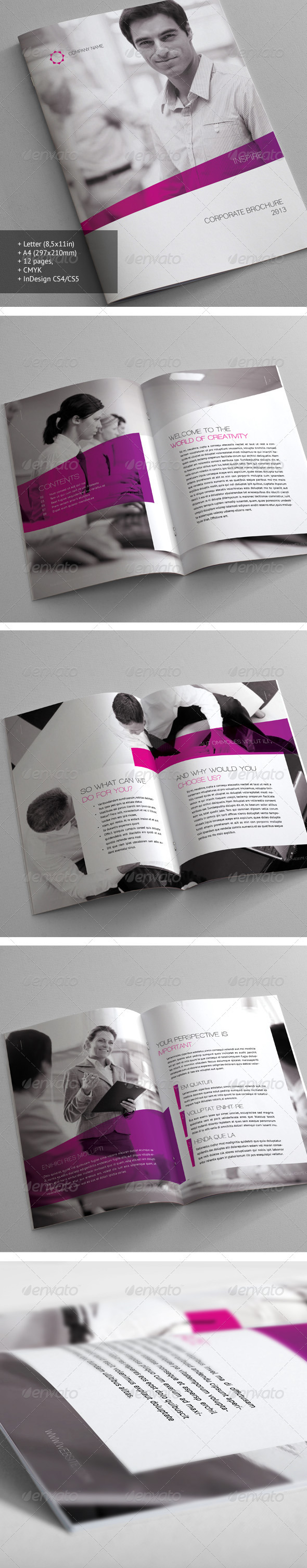 GraphicRiver Corporate Brochure 21 3256377