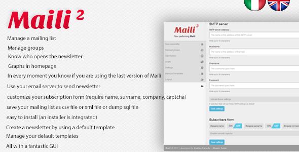 Maili 2 - Newsletter System