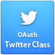 Twitter Authentication (OAuth) Class - CodeCanyon Item for Sale