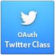 Twitter Authentication ( OAuth ) Kelas - WorldWideScripts.net Barang Dijual