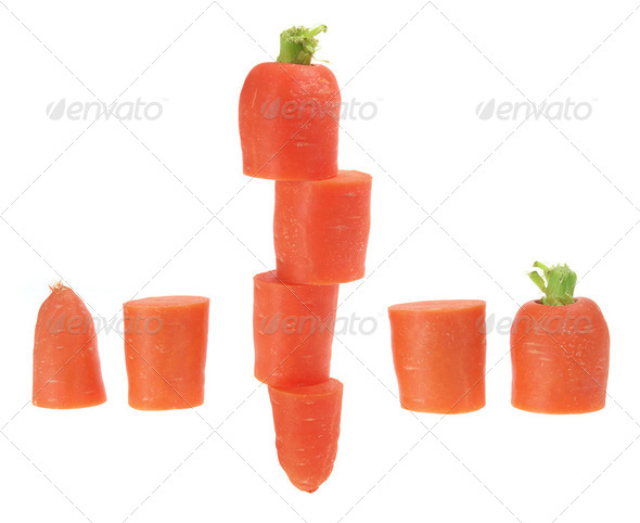 Slices of Carrot - Stock Photo - Images