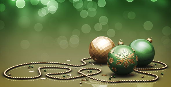 VideoHive Christmas Background 04 In 5 Colors 3257607