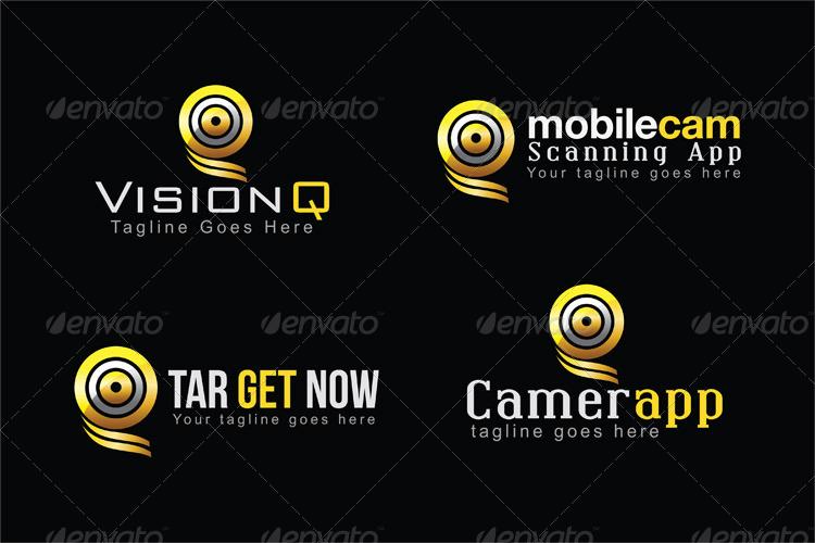 Aim, Target, Balance, Games, App Logo Template