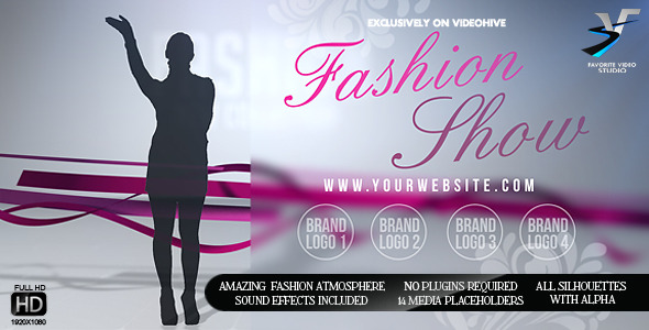 VideoHive Fashion Show Promo for Your Boutique 3258167
