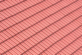 Red roofing background