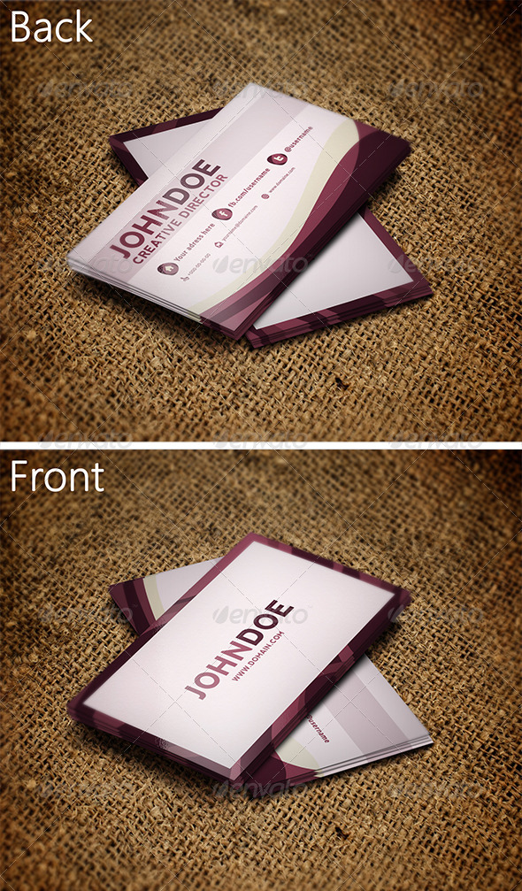 GraphicRiver Creative Business Card 3258538