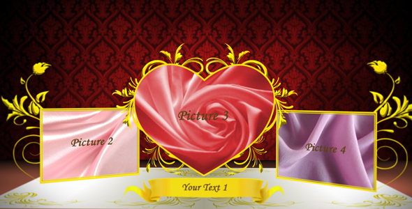 After Effects Project - VideoHive Wedding pop up album 114757