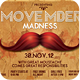 Retro Movember Party Flyer - GraphicRiver Item for Sale
