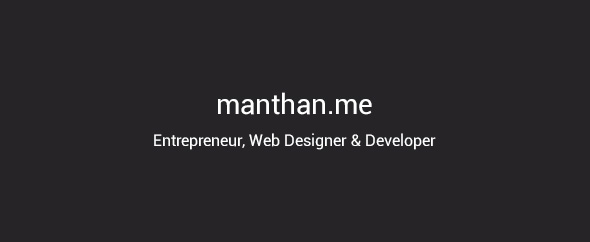 manthan108