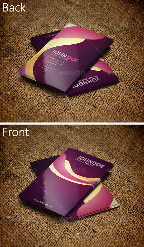 GraphicRiver Creative Business Card 3 3258884
