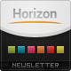 Horizon Newsletter Template - GraphicRiver Item for Sale