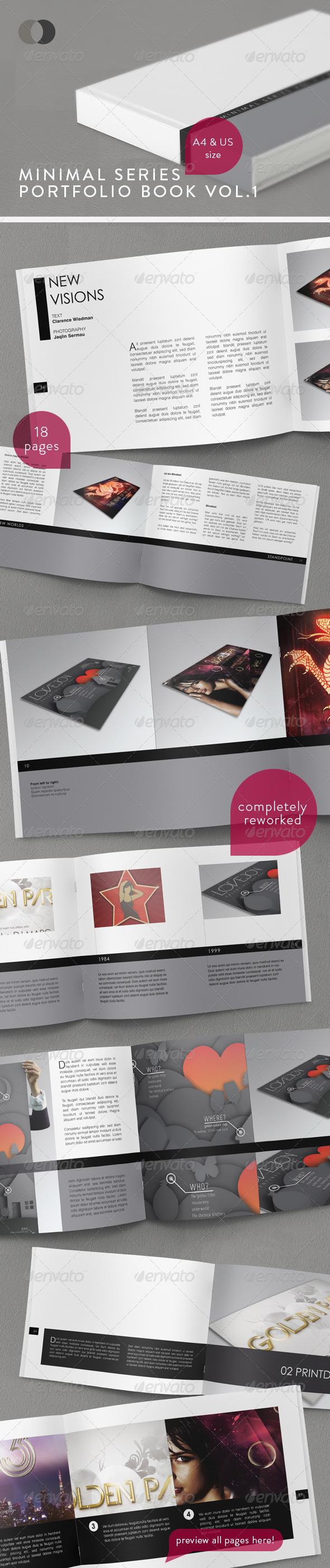 GraphicRiver Book & Brochure minimal Series Vol.1 158287