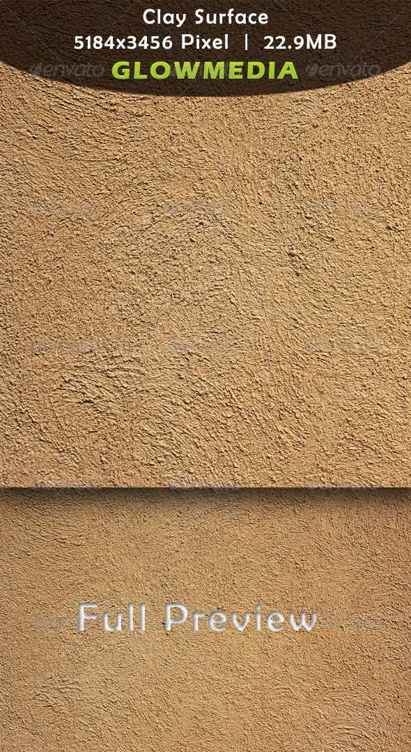 Clay Surface - Concrete Textures