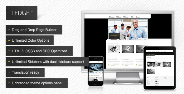 ThemeForest Ledge responsive corporate theme 3260974