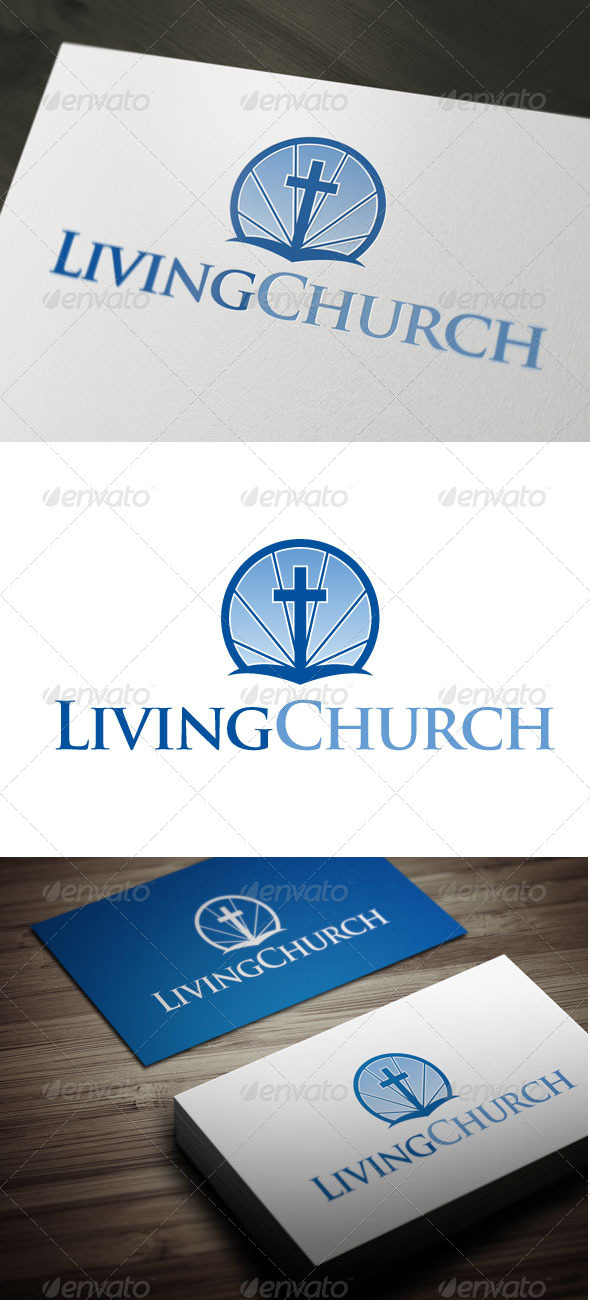 Living Church - Symbols Logo Templates