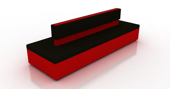 3DOcean Lounge sofa 114276