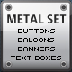 Web 2.0 Metal Set - GraphicRiver Item for Sale