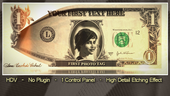 After Effects Project - VideoHive Dollar Promo 3262250