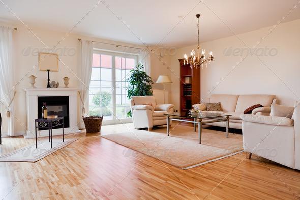 PhotoDune Modern house living-room 2079491