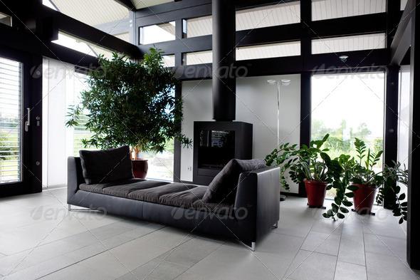 PhotoDune Modern house living-room 2079522