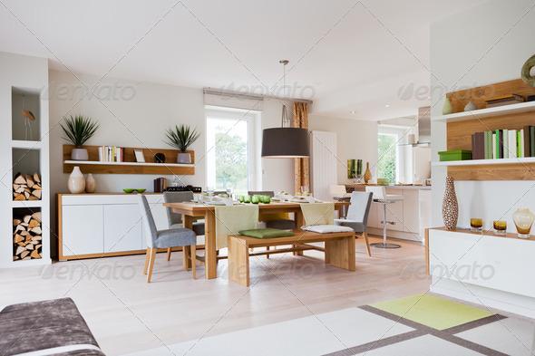 PhotoDune Modern house living-room 2079554