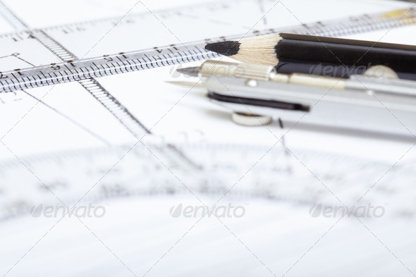 Drawing tools - Stock Photo - Images
