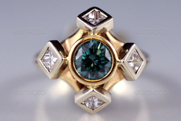 Emerald Ring - Stock Photo - Images