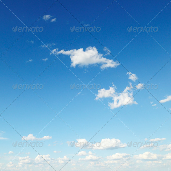 clouds in sky - Stock Photo - Images