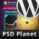 PSD Planet WP - ThemeForest Item for Sale