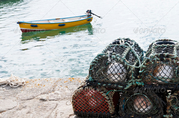Crab Cages - Stock Photo - Images