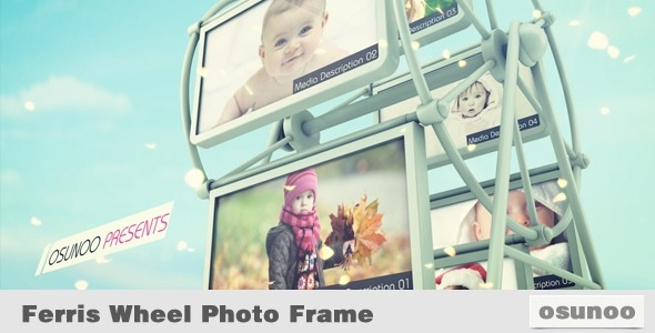 VideoHive Ferris Wheel Photo Frame 3263052