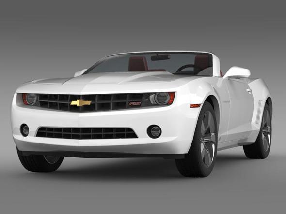 3DOcean Chevrolet Camaro convertible 3264828