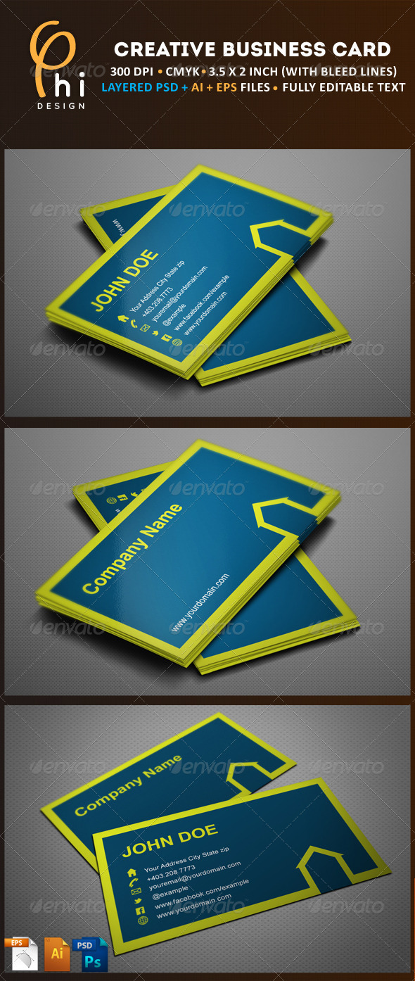 GraphicRiver Creative Business Card 3266064